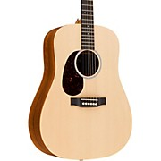 Martin X Series 2016 DX1KAE-L Dreadnought Left-Handed Acoustic-Electric Guitar