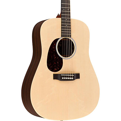 Martin X Series 2016 DX1RAE-L Dreadnought Left-Handed Acoustic-Electric Guitar Natural