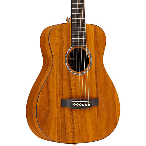 Martin X Series 2016 LX Koa Little Martin Left-Handed Acoustic Guitar Natural