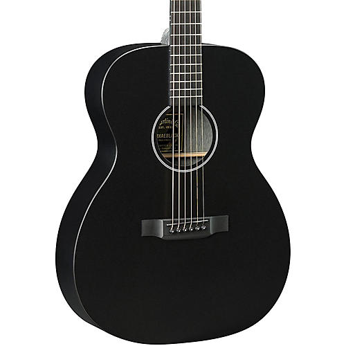Martin X Series 2016 OMXAE Black Orchestra Model Acoustic-Electric Guitar Black