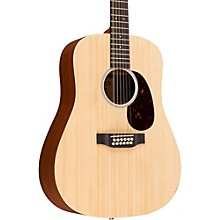 Martin X Series Custom X1D12E-CST Dreadnought 12-String Acoustic-Electric Guitar