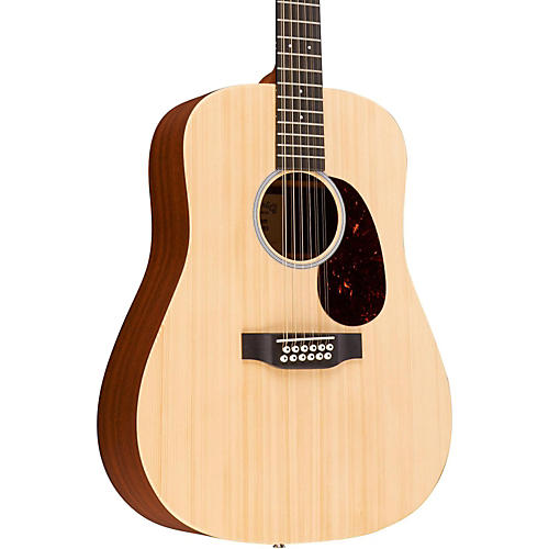 Martin X Series Custom X1D12E-CST Dreadnought 12-String Acoustic-Electric Natural