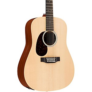 Martin X Series D12X1AE-L Dreadnought Left Handed 12 String Acoustic-Electr... by Martin