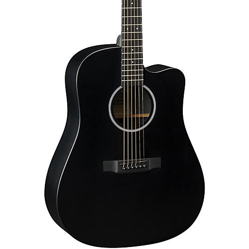 Martin X Series DCXAE Dreadnought Acoustic-Electric Guitar Black