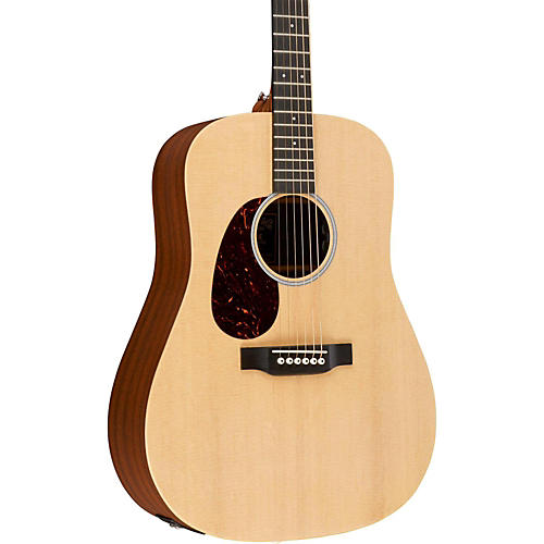 Martin X Series DX1AE-L Dreadnought Left-Handed Acoustic-Electric Guitar-thumbnail