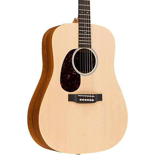 Martin X Series DX1KAE-L Dreadnought Left-Handed Acoustic-Electric Guitar-thumbnail