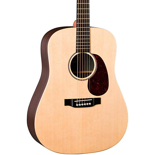 Martin X Series DX1RAE Dreadnought Acoustic Electric Guitar Natural