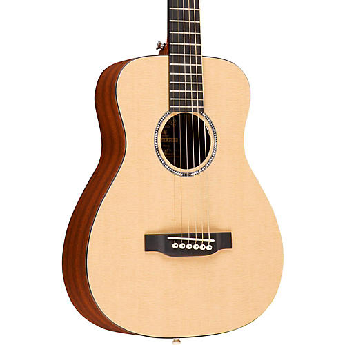 Martin X Series LX Little Martin Left-Handed Acoustic Guitar-thumbnail