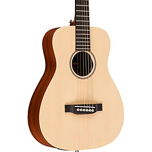 Martin X Series LX1E Little Martin Left Handed Acoustic-Electric Guitar