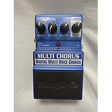 Digitech X Series Multi Voice Chorus Effect Pedal