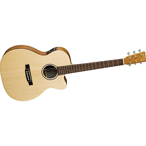 Martin X Series OMCX1KE Cutaway Acoustic-Electric Guitar Natural