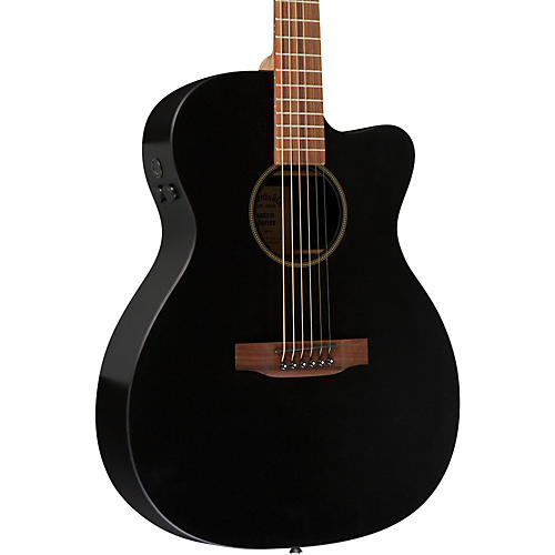 Martin X Series X-000CEBK Custom Cutaway Acoustic-Electric Guitar with HPL Top-thumbnail