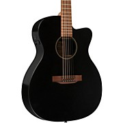 Martin X Series X-000CEBK Custom Cutaway Acoustic-Electric Guitar with HPL Top