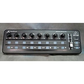 used behringer x touch mini midi controller guitar center. Black Bedroom Furniture Sets. Home Design Ideas