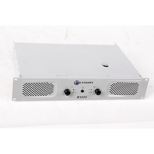 Crown X1000 Stereo 2x300W Power Amp  888365234502