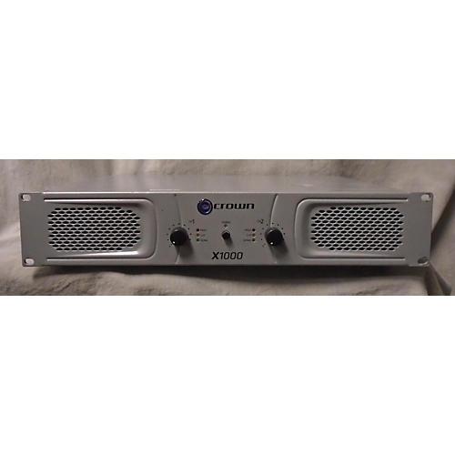 Crown X1000 Stereo 2x300W Power Amp-thumbnail