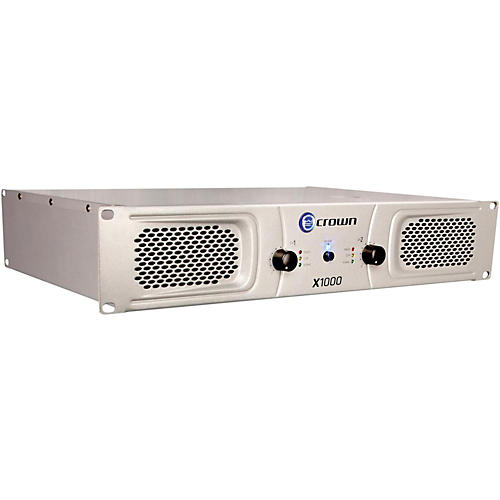 Crown X1000 Stereo 2x300W Power Amp-thumbnail