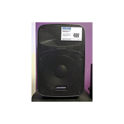 used samson x12d pair powered speaker guitar center. Black Bedroom Furniture Sets. Home Design Ideas