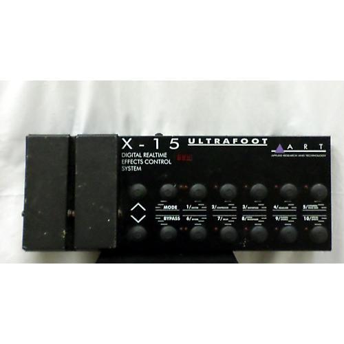 Used Art X15 Ultrafoot Midi Foot Controller Guitar Center
