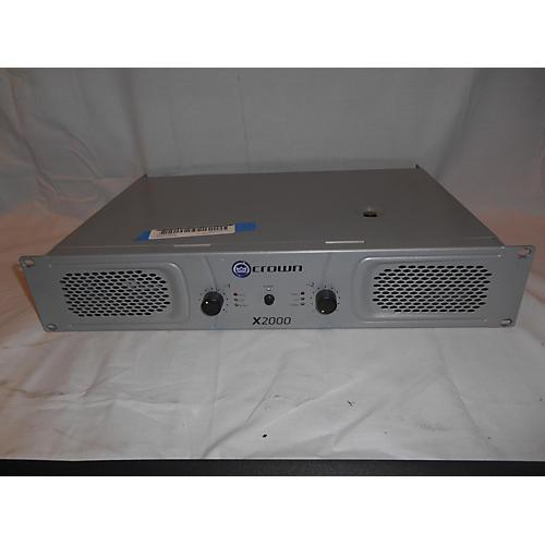 Crown X2000 Stereo 2x450W Power Amp-thumbnail