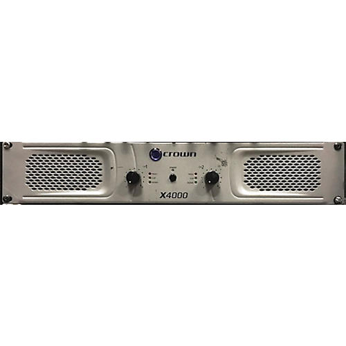 Crown X4000 Stereo 2x1350W Power Amp