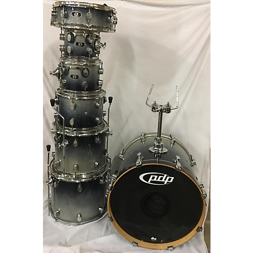 Used pdp by dw x7 drum kit guitar center for 14x12 floor tom