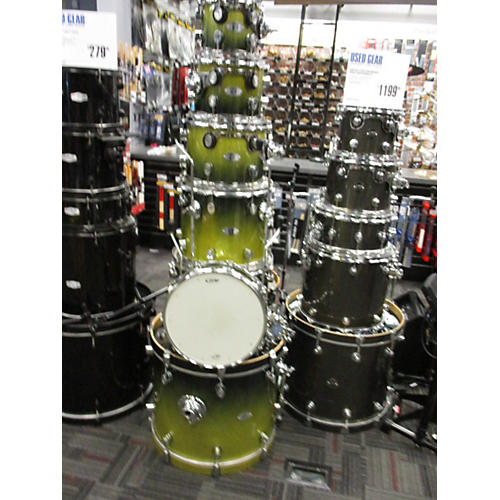 used pdp by dw x7 series maple drum kit guitar center. Black Bedroom Furniture Sets. Home Design Ideas