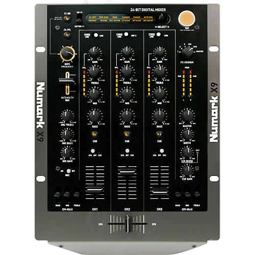 Numark X9 DJ Mixer with Effects