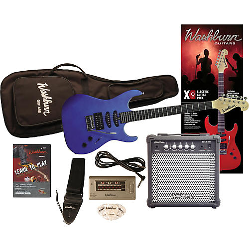 Washburn X9 Electric Guitar Pack with Amp-thumbnail