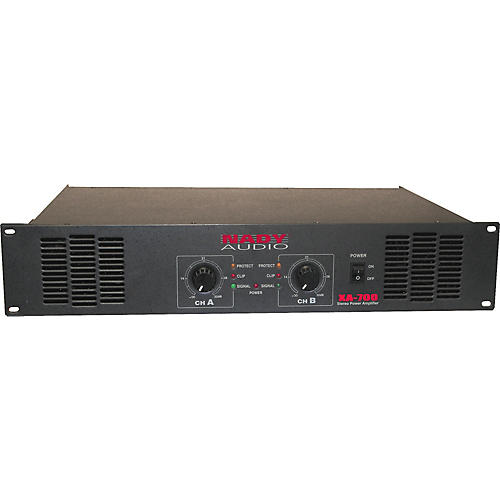 Nady XA-700 Stereo Power Amplifier