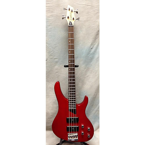 Washburn XB400 Trans Red Electric Bass Guitar-thumbnail