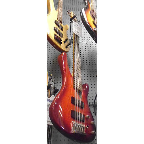 Washburn XB600 Trans Red Electric Bass Guitar-thumbnail