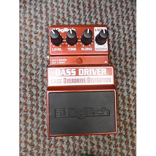 Digitech XBD Bass Overdrive Bass Effect Pedal