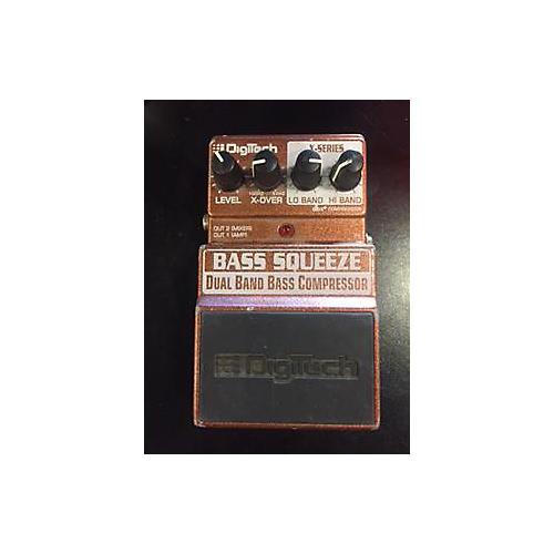 Digitech XBS Bass Squeeze Compressor Bass Effect Pedal-thumbnail