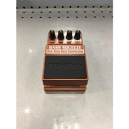 Digitech XBS Bass Squeeze Compressor Bass Effect Pedal-thumbnail