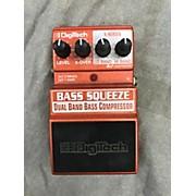 Digitech XBS Bass Squeeze Compressor Bass Effect Pedal