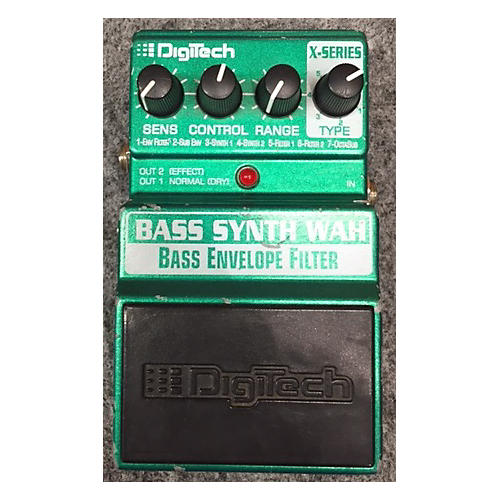 Digitech XBW Bass Synth Wah Bass Effect Pedal-thumbnail
