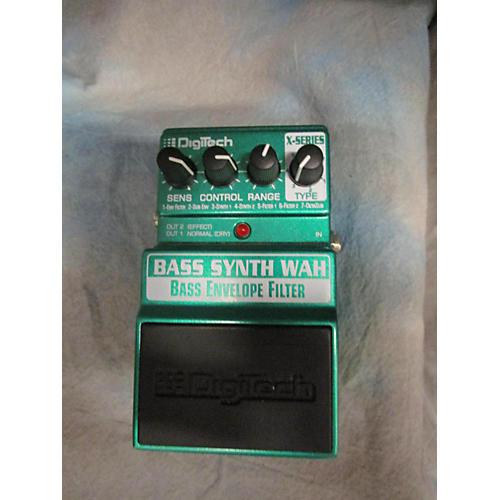 Digitech XBW Bass Synth Wah Bass Effect Pedal-thumbnail