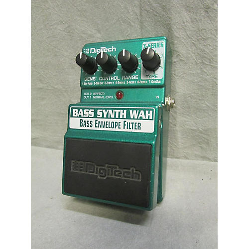 Digitech XBW Bass Synth Wah Bass Effect Pedal