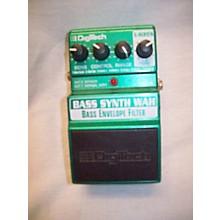 Digitech XBW Bass Synth Wah Bass Effect Pedal