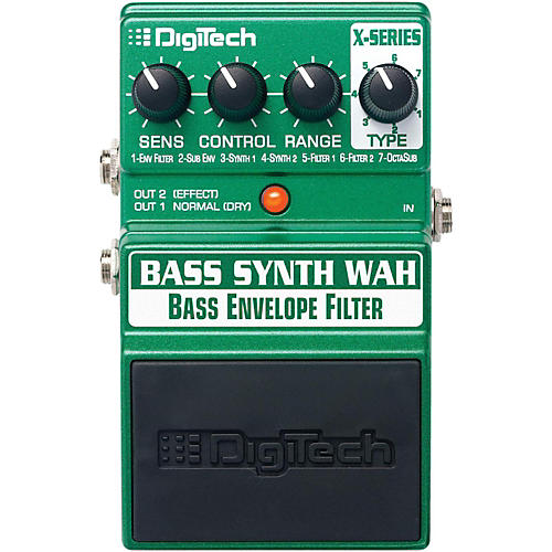 Digitech XBW Bass Synth Wah Effects Pedal-thumbnail
