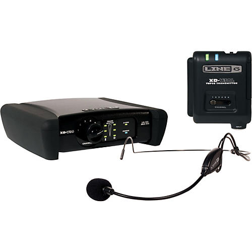 Line 6 XD-V30HS 6 Channel Headset Digital Wireless System-thumbnail