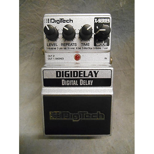Digitech XDD Digital Delay Effect Pedal