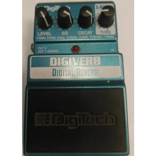 DigiTech XDV Digital Reverb Effect Pedal