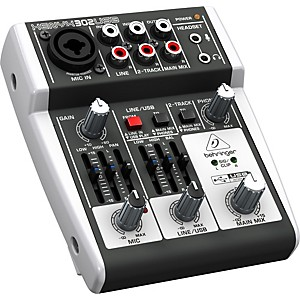 Behringer XENYX 302USB Mixer by Behringer