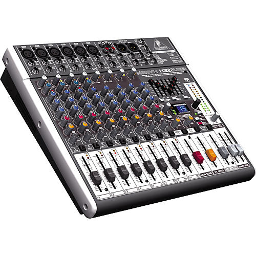 Behringer XENYX X1222USB USB Mixer with Effects-thumbnail