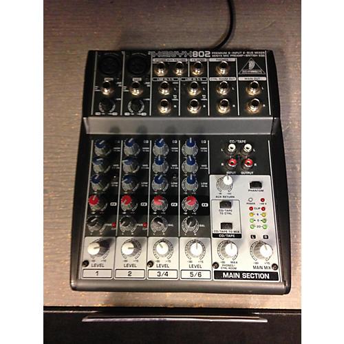 Behringer XENYX802 Line Mixer