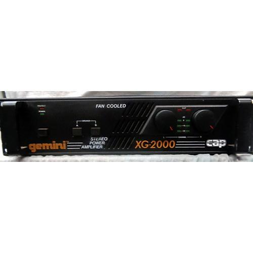 Gemini XG2000 Power Amp-thumbnail
