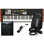 Hammond XK-1C Portable Organ with Keyboard Accessory Pack, MK50 Keyboard Amplifer, and Sustain Pedal