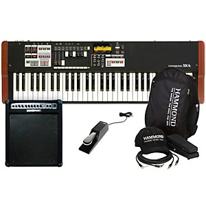Hammond XK-1C Stage Keyboard with Accessory Pack, Keyboard Amplifier, and S...